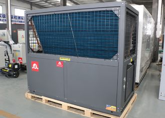 China 380V Commercial Air Source Heat Pump , Heat Pump Pool Heater Schools Hotels supplier